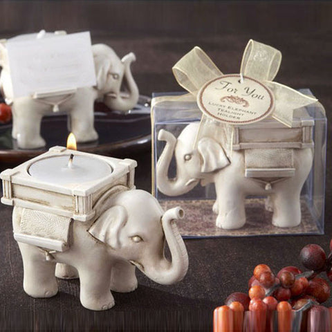 Elephant Tea Light Candle Holder