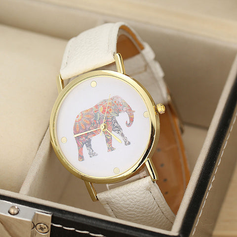 Colorful Elephant Watch