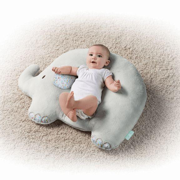 pillow for baby. elephant baby pillow for