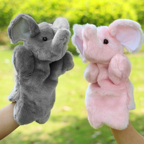 Elephant Baby Hand Puppet Doll Plush