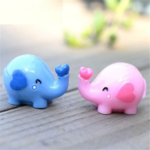 Elephant Love Figurine