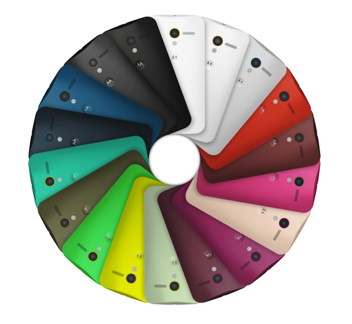 Moto X Custom Colors