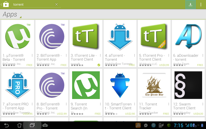 top 5 best torrents for android by referguru