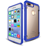 Casephile ClearCase for iPhone 7/8 Plus - Blue