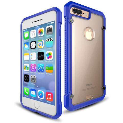 CasePhile ClearCase for iPhone 7 Plus - Blue