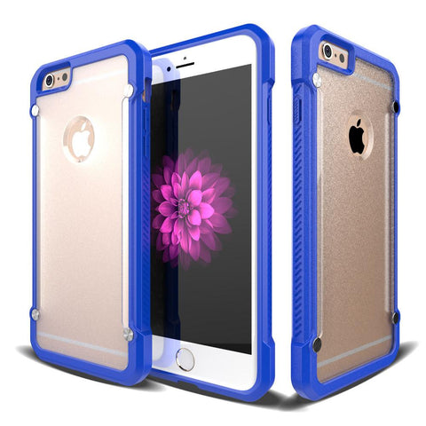 Casephile ClearCase for iPhone 6 Plus & 6S Plus - Blue