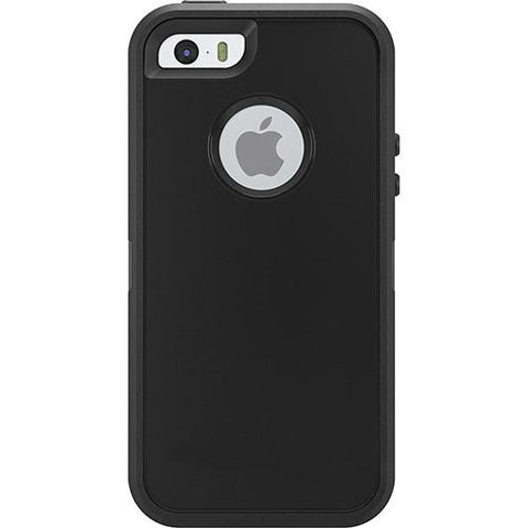 Casephile Defense Case - iPhone 5 & 5S & SE - Black