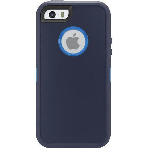 Casephile Defense Case - iPhone 5 & 5S & SE - Blue