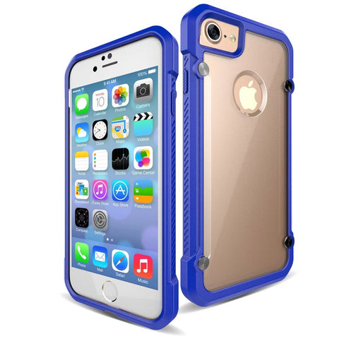 Casephile ClearCase for iPhone 7 - Blue