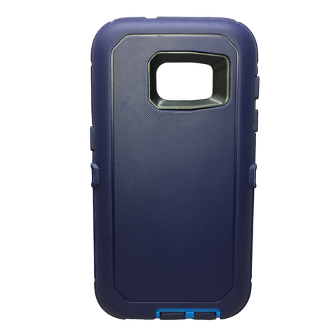 Casephile Defense Case - Samsung S7 Edge - Blue