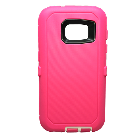 Casephile Defense Case - Samsung S7 Edge - Pink