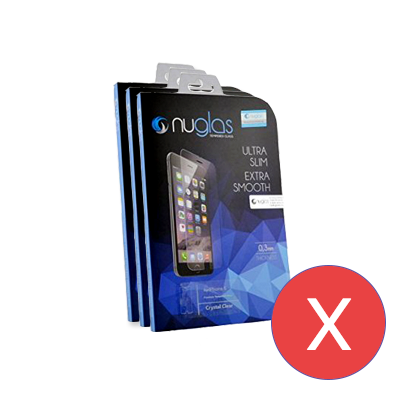 NuGlas for iPhone X - SET OF 10