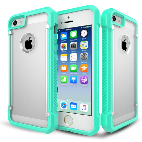 Casephile ClearCase for iPhone 5 & 5S & SE - Mint