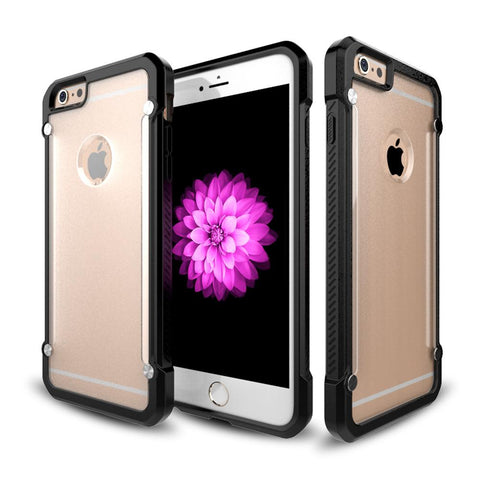 Casephile ClearCase for iPhone 6 Plus & 6S Plus - Black