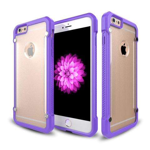 Casephile ClearCase for iPhone 6 & 6S - Purple