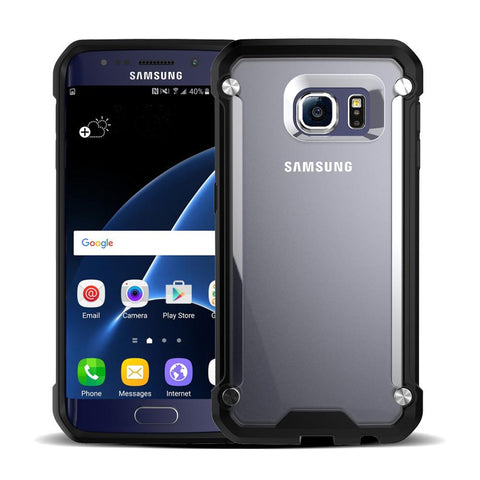 Casephile ClearCase for Samsung S6 - Black
