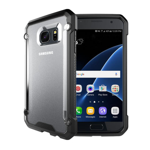 Casephile ClearCase for Samsung S7 Edge - Black