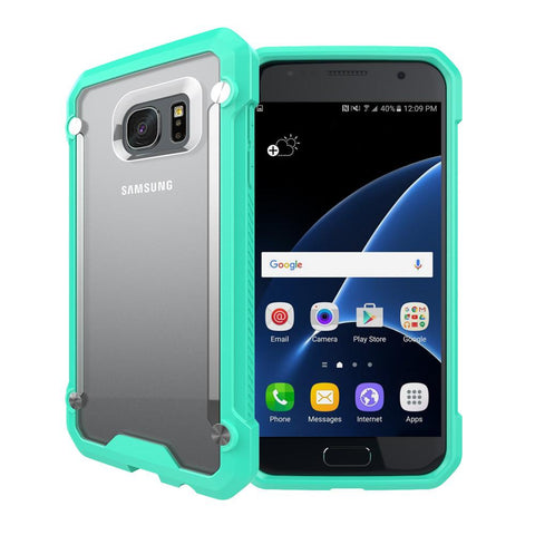 Casephile ClearCase for Samsung S7 Edge - Mint