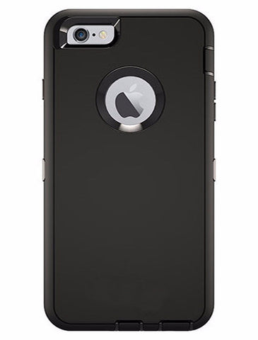 CasePhile Defense Case - iPhone 6 Plus & 6S Plus -  Black