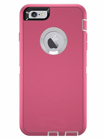 CasePhile Defense Case - iPhone 6 Plus & 6S Plus - Pink
