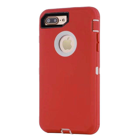 Casephile Defense Case - iPhone 7/8 Plus - Red