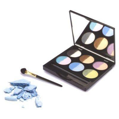 Golden Rose Multicolor Shimmer Eyeshadow Palette eveline-cosmetics.myshopify.com