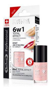 6 in 1 Total Effect Nail Treatment with Conditioner - eveline-cosmetics
