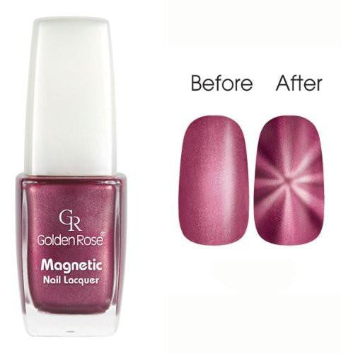 Golden Rose Magnetic Nail Lacquer - Star Effect