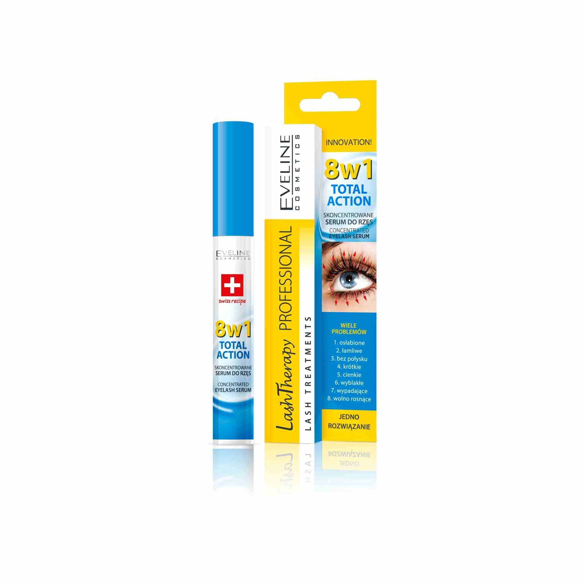 Lash Therapy 8 in 1 Total Action Eyelash Serum