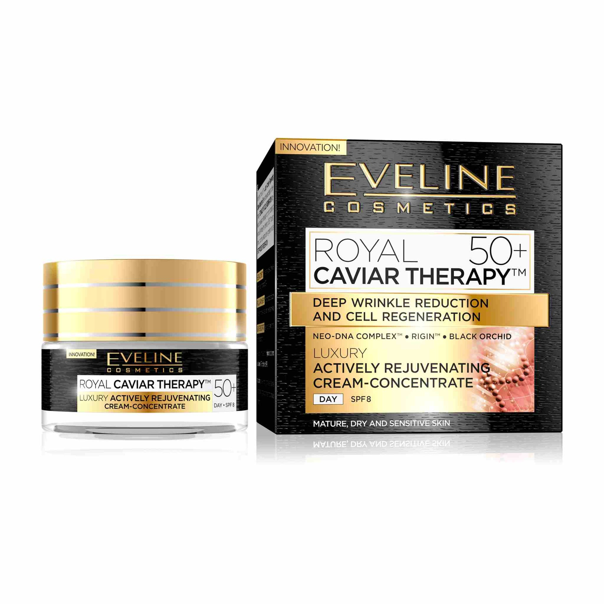 Royal Caviar Therapy Luxury Actively Rejuvenating Day Cream Concentrate 50+