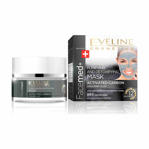 Facemed+ Cleansing Detoxifying Face Mask with Activated Carbon