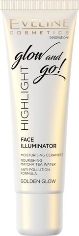 Glow and Go! Highlight Face Illuminator - Golden Glow - eveline-cosmetics