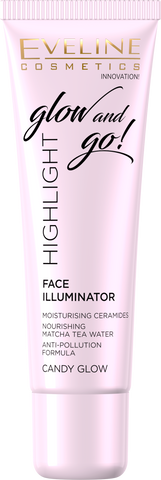 Glow and Go! Highlight Face Illuminator - Candy Glow - eveline-cosmetics