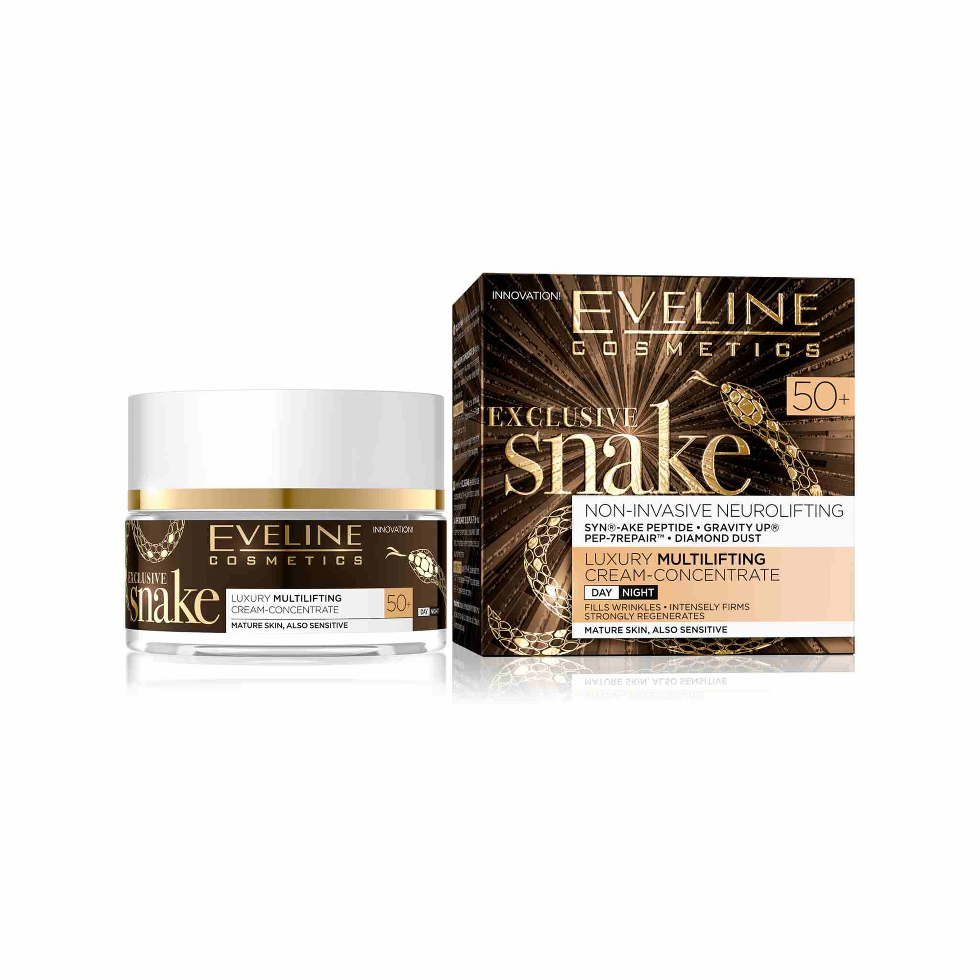 Exclusive Snake Neurolifting Luxury Multi-lifting Day and Night Cream 50+
