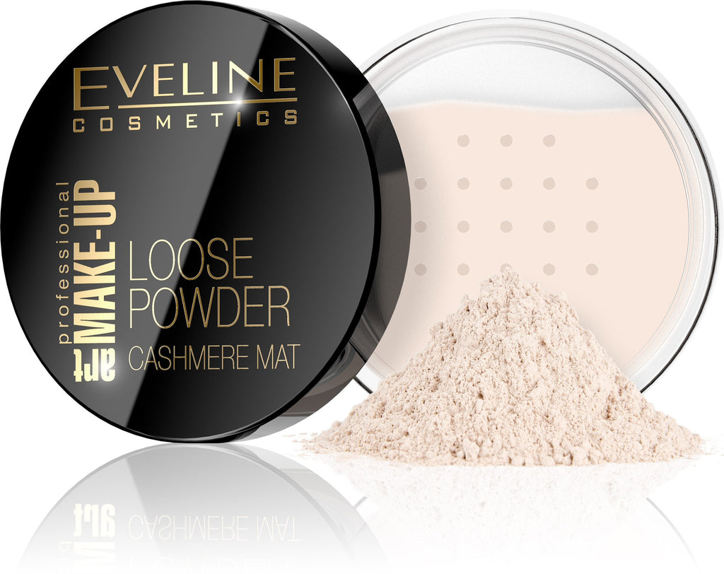Eveline Cosmetics Loose Powder Cashmere Mat 01-Transparen