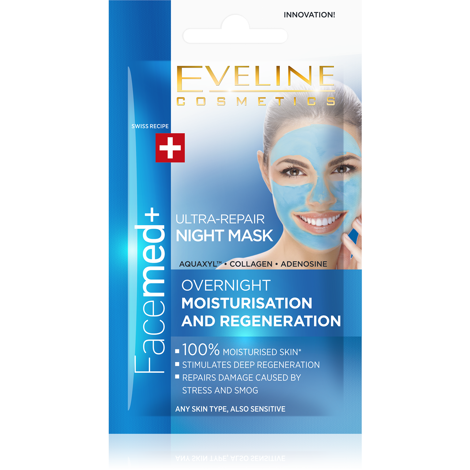FaceMed+ Ultra-Repair Night Mask eveline-cosmetics.myshopify.com