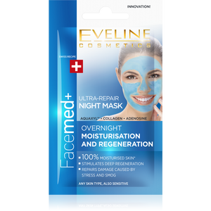 FaceMed+ Ultra-Repair Night Mask - eveline-cosmetics