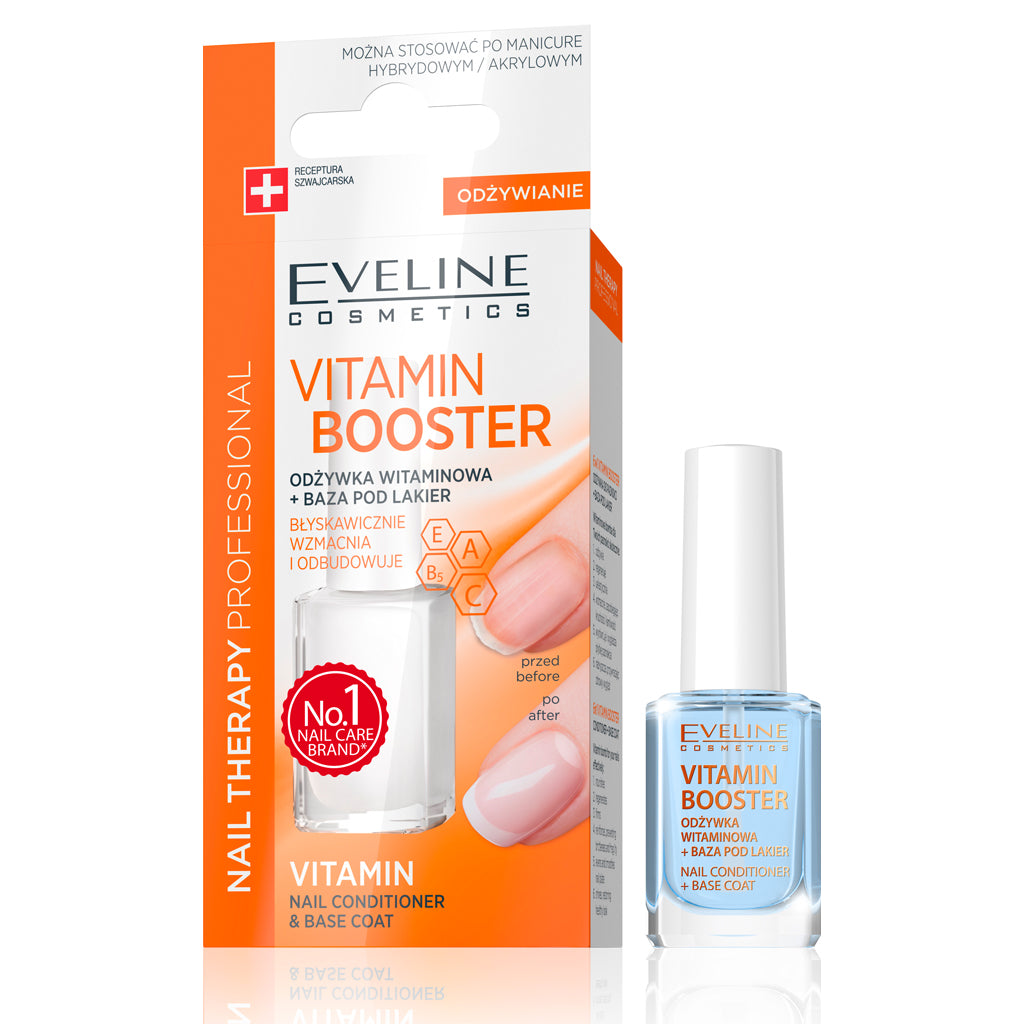 Vitamin Booster 6 in 1 Nail Conditioner and Base Coat (12 ml)