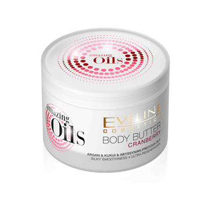 Amazing Oils Cranberry Body Butter Lotion