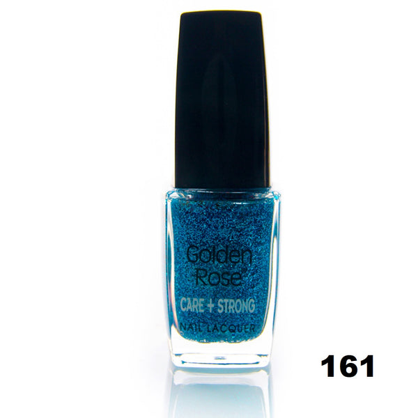 Care+Strong Nail Lacquer (Glitter Colors)