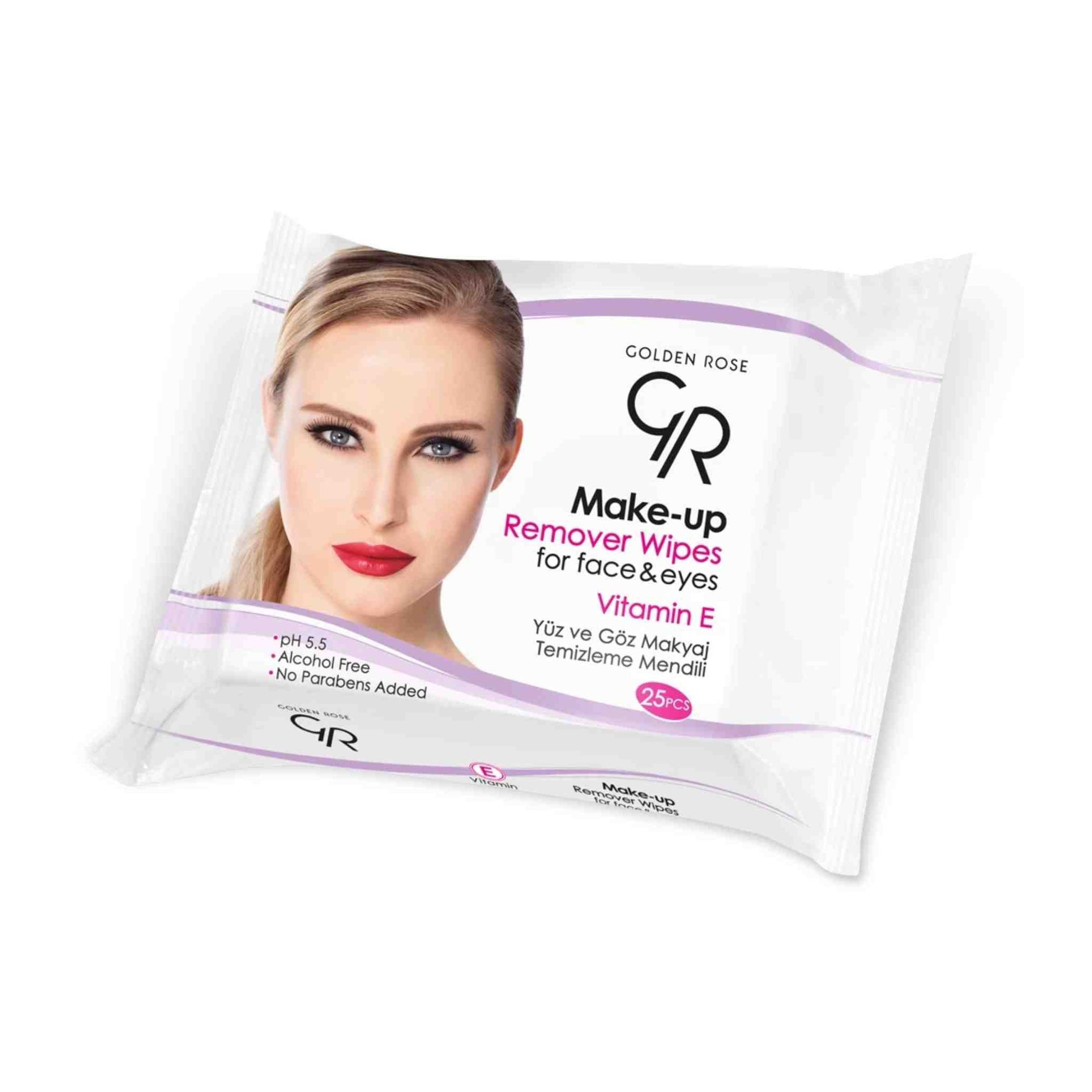 Make-up Cleansing Wipes for Eyes & Face
