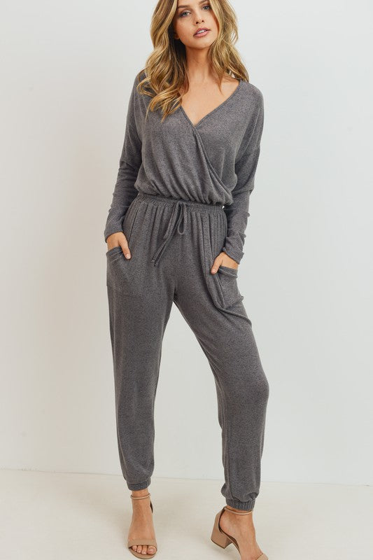GREY JUMPSUIT -