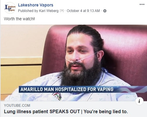 Vaping Story- The truth will come out