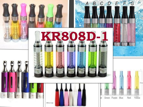 KR808D-1 Refillable Tanks and Clearomizers