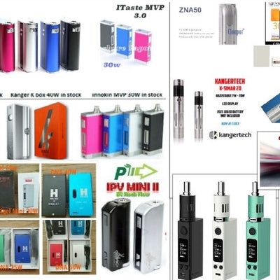 E-Cig Mods and Sub-Ohm Batteries
