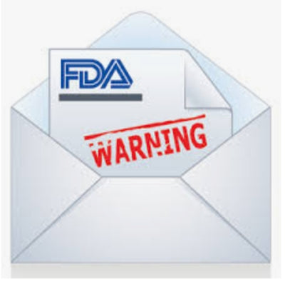 PMTA Warning Letters from fda