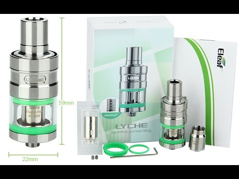 Eleaf Lyche Sub Ohm Tank- Top airflow and side filling