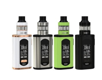 Eleaf Istick Invoke kit with Ello Tank- Greenery