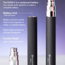 Kanger Evod C 650Mah Battery