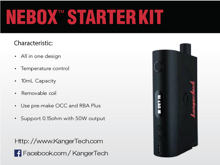 kanger nebox at lakeshore vapors